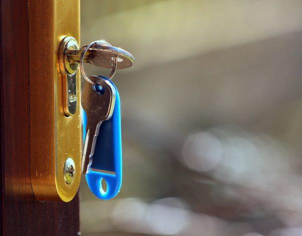 Puerta con llave