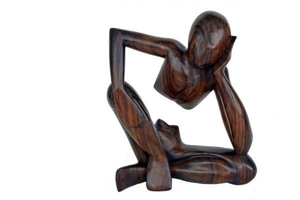 Pensador madera